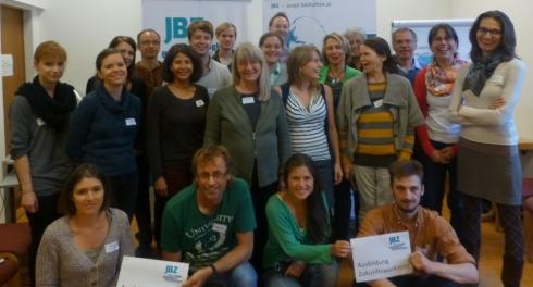 TeilnehmerInnen der Zukunftswerkstätten-Ausbildung 2013