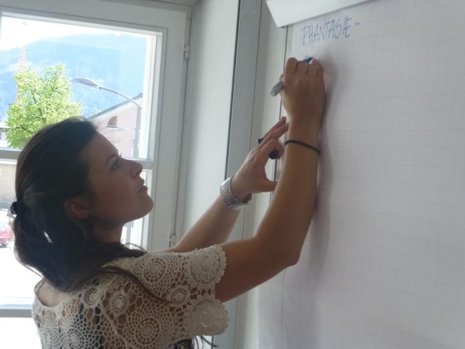 Zukunftswerkstatt über Erwachsenenbildung in Saalfelden
